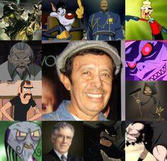 Armando y algunos de sus personajes.jpg