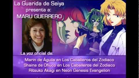 La Guarida de Seiya - Entrevista a Maru Guerrero (Parte 3)