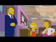 Los Simpson Temporada 32 - Clip -7 Voces Originales - Voz del abuelo, Krusty, Chalmers, Snake y más