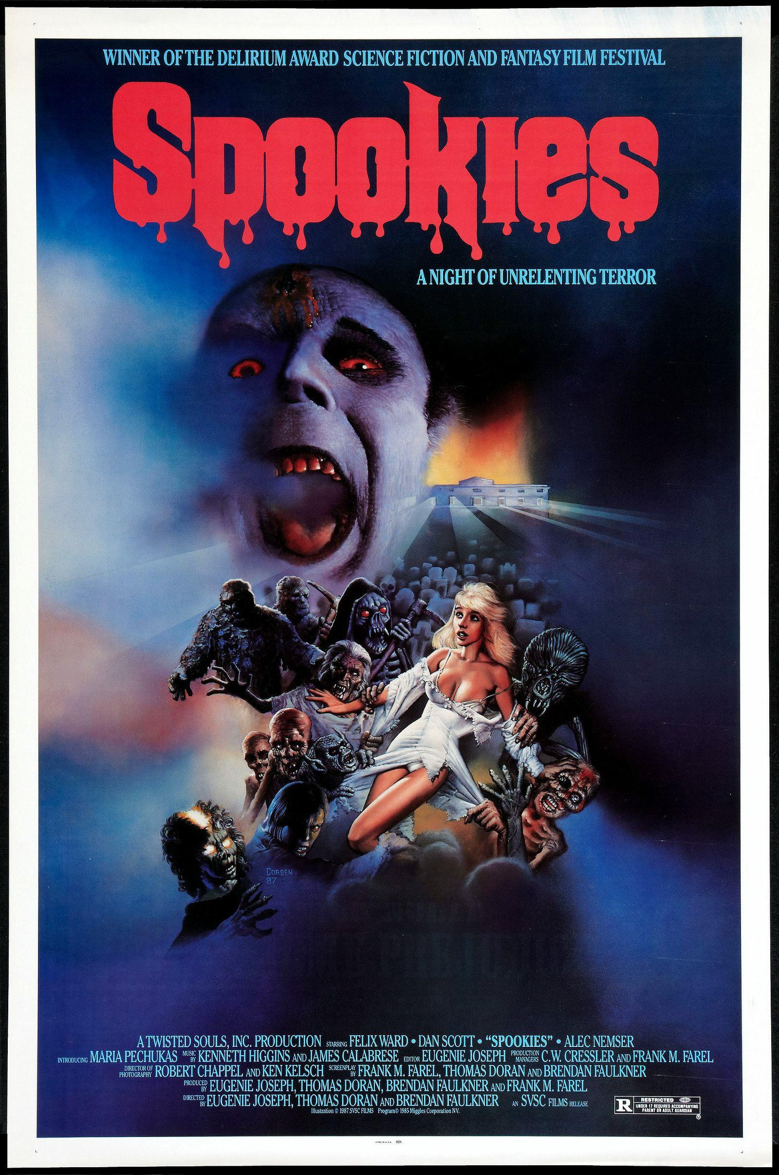 La mansión de los espectros (1986)