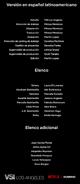 Créditos doblaje Selena La serie (temp. 2 ep. 2)