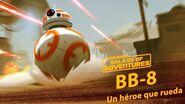 BB-8 Un héroe que rueda Star Wars Galaxy of Adventures