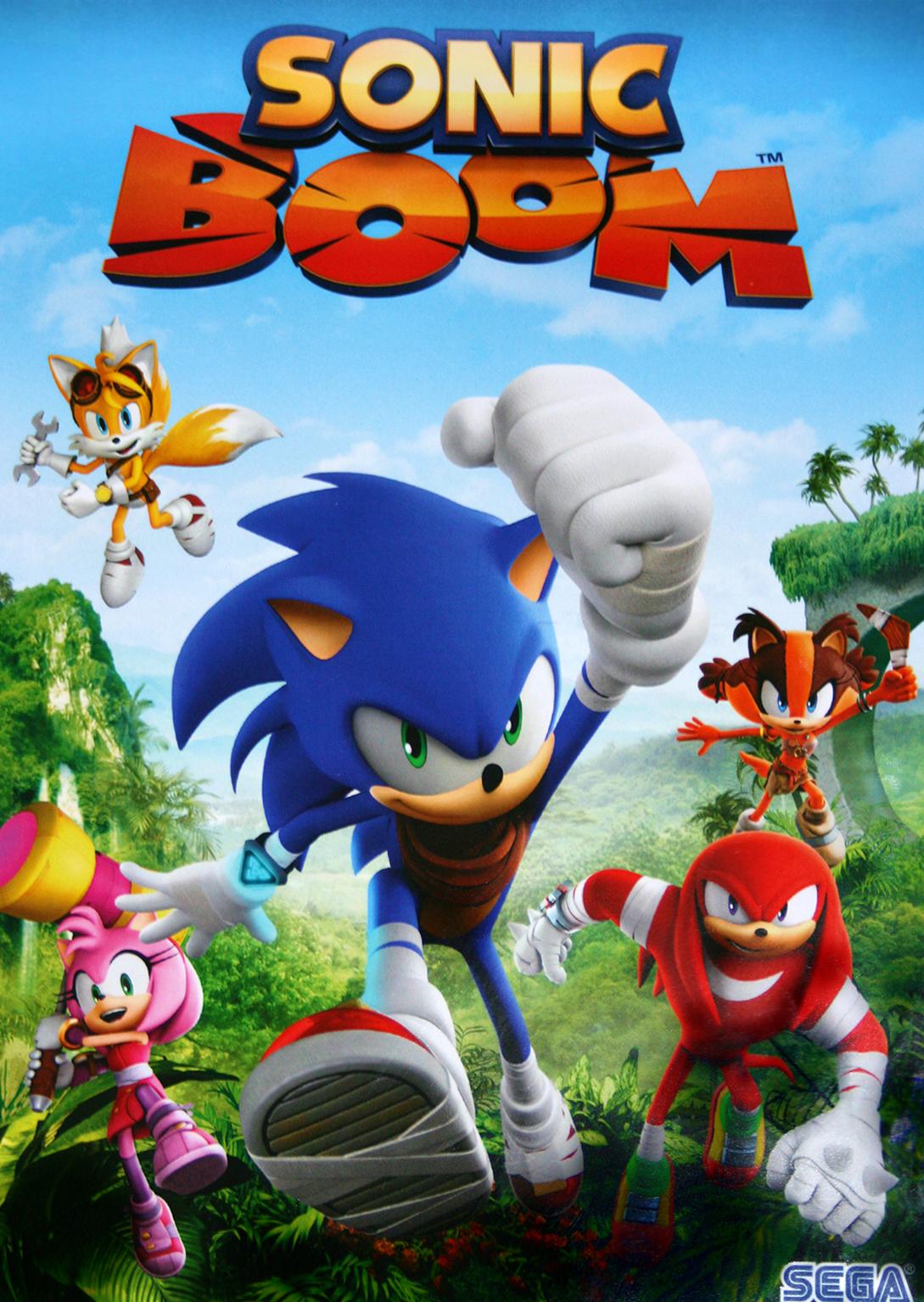 Darker Dreik/Sonic Boom - Propuesta de voces para la 2ª Temporada.
