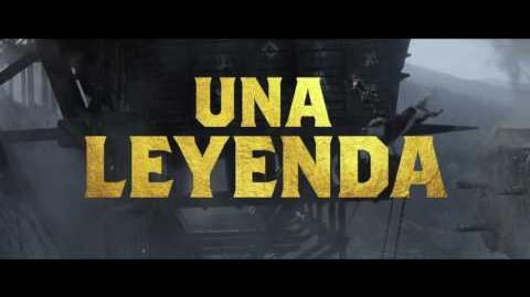 """EL REY ARTURO LA LEYENDA DE LA ESPADA - Poderoso 30"""" - Oficial Warner Bros"""