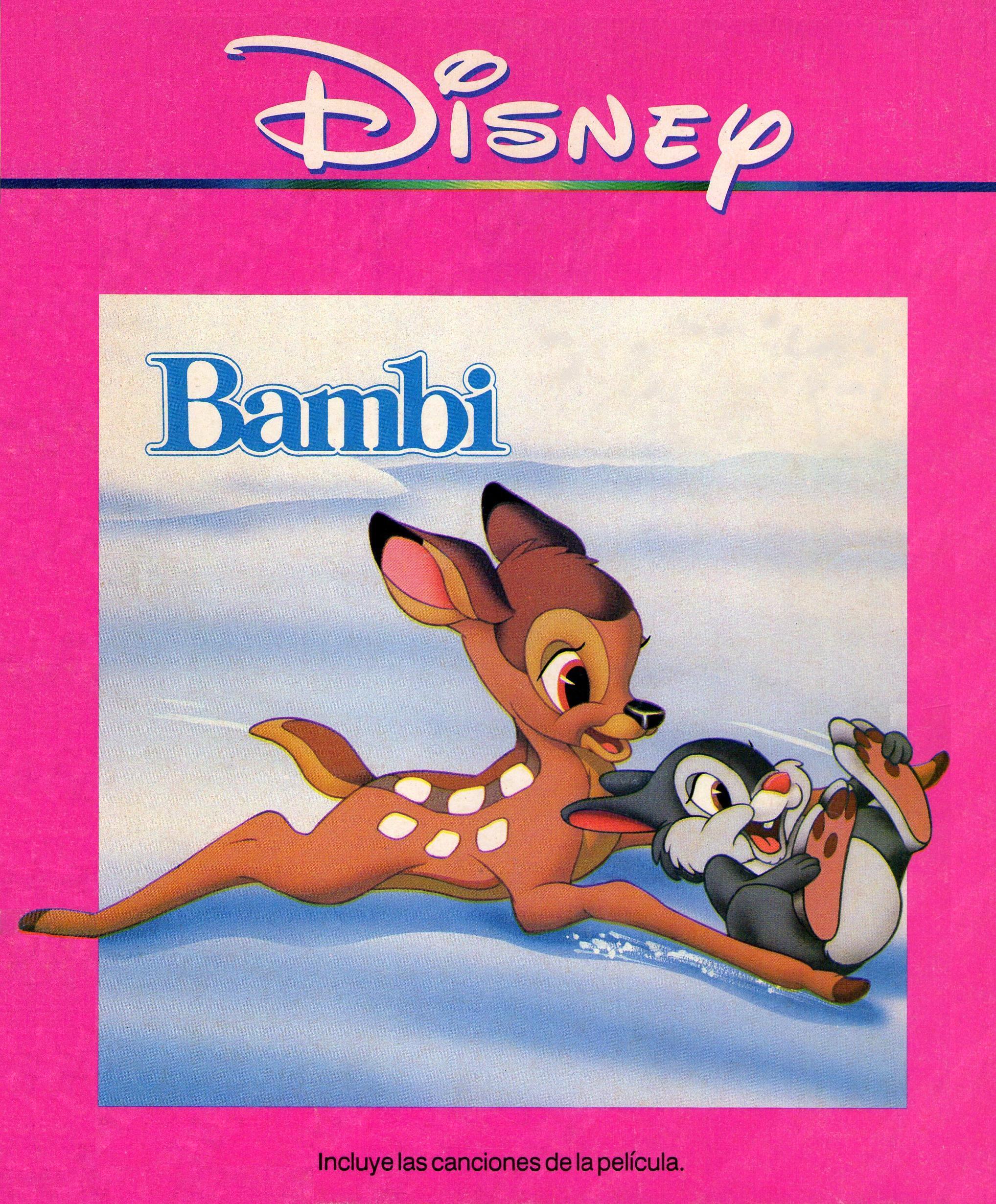 Bambi (audio-cuento)