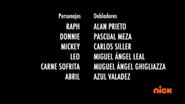 Creditos de doblaje Rise of the TMNT (Episodio 2, 1)