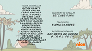 Creditos de doblaje The Loud House ESLA (S309-2)