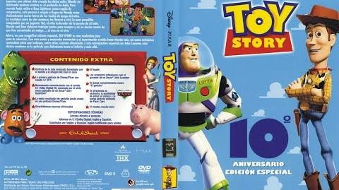 Inicio De Toy Story Edición 10th Aniversario En DVD (2005) Latinoamerica