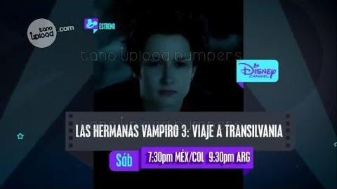 Las hermanas vampiro 3 Viaje a Transilvania - Promo Junio 2017 - Disney Channel Latinoamérica-0