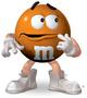 Orange M&M