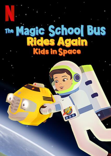 El autobús mágico vuelve a despegar: Clase espacial