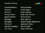 Créditos de doblaje de El loco mundo de Tex Avery (TV) (TaTeTi) (2)