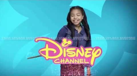 Navia Ziraili Robinson (La casa de Raven) - Estás viendo Disney Channel Latinoamérica - Bumper