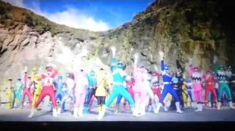Power Rangers Super Megaforce - Fragmento último capitulo