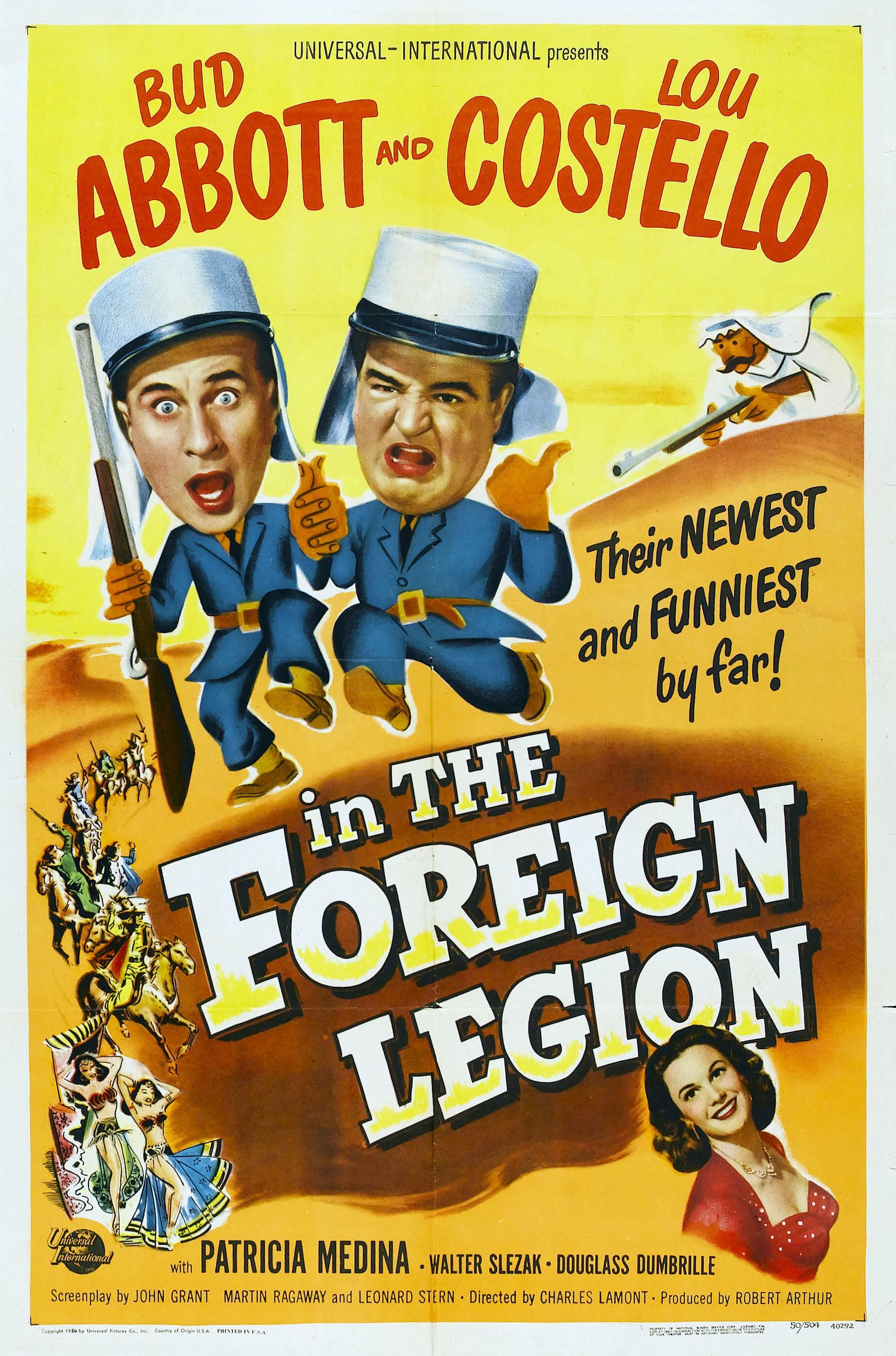 Abbott y Costello: En La Legión Extranjera