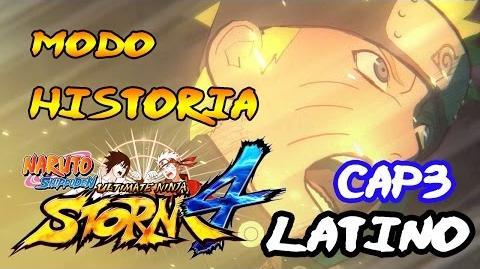 Los 4 Hokages Naruto Shippuden- Ultimate Ninja Storm 4 Modo Historia Latino Español