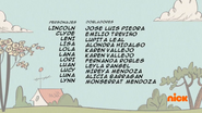 Creditos de doblaje The Loud House ESLA (S311-1)