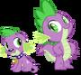 Spike and spike by hampshireukbrony-d6rrs83