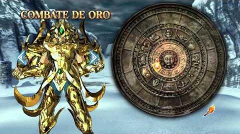 LOS CABALLEROS DEL ZODIACO ALMA DE SOLDADOS PS4 COMBATE DE ORO DE LEO