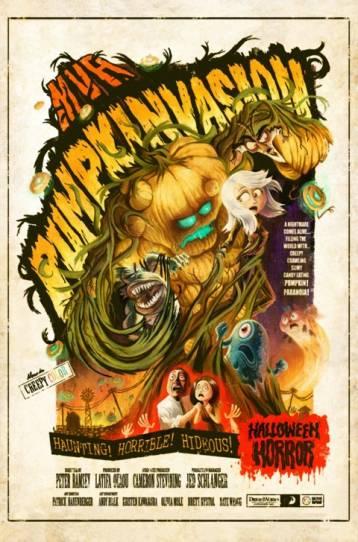 Monstruos vs. Aliens: Calabazas mutantes del espacio exterior
