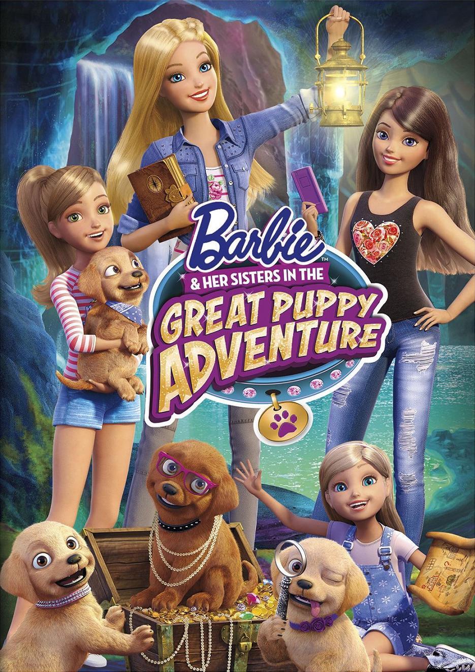 Barbie y sus hermanas: En una aventura de perritos
