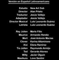 Doblaje Latino de Viva el Rey Julien (Capitulo 1)