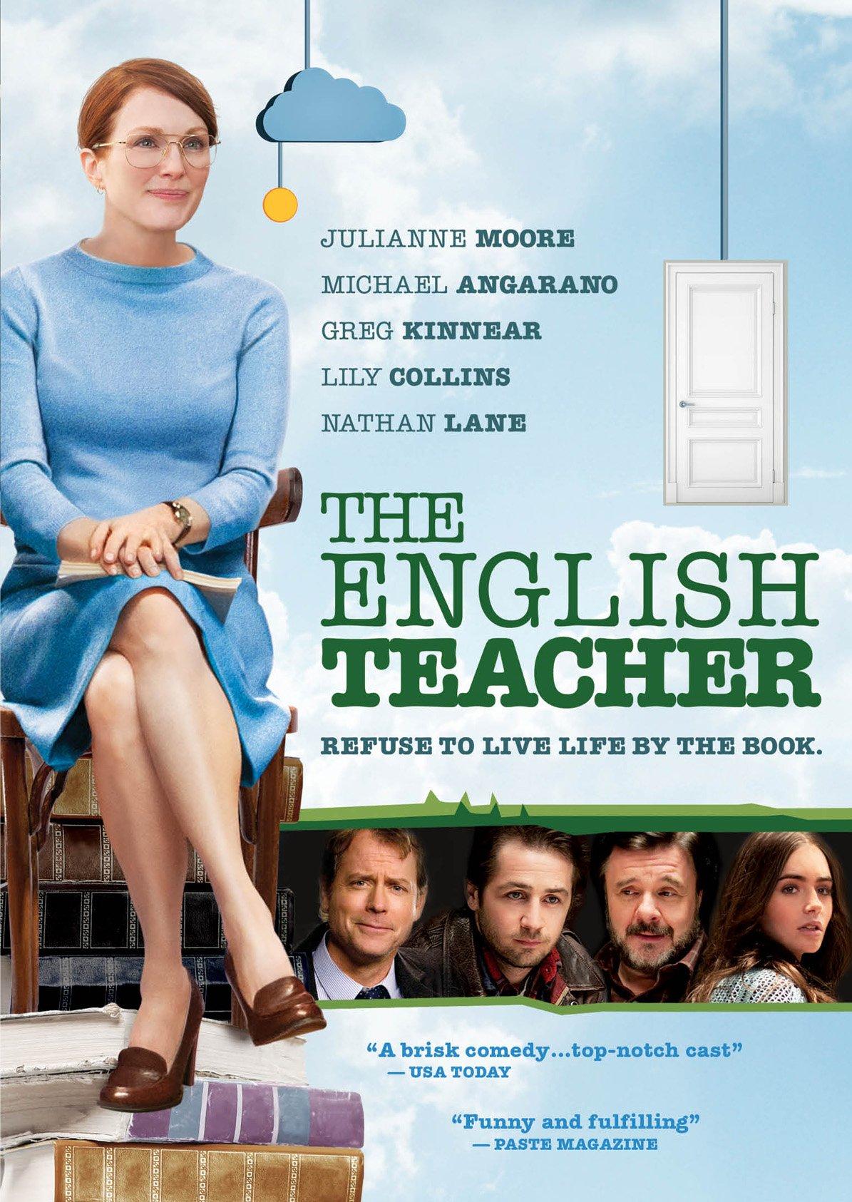 La profesora de inglés