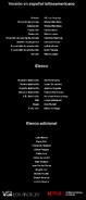 Créditos doblaje Selena La serie (temp. 1 ep. 4)