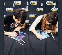 Livier Zuñiga y Fernando Orozo en firma de autografos (09-11-19) (3)
