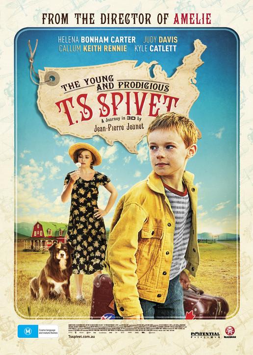 El extraordinario viaje del joven y prodigioso T.S Spivet