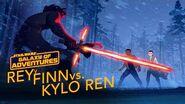 Rey y Finn vs