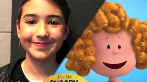Snoopy & Charlie Brown, Peanuts la Película - Los niños detrás de los personajes