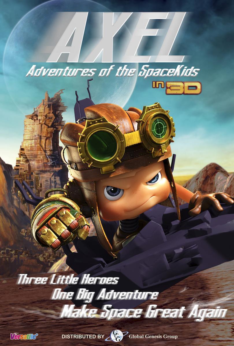 Axel y los chicos espaciales