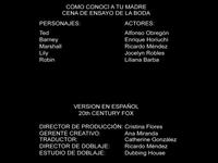 S09E12 Cena de Ensayo de la Boda