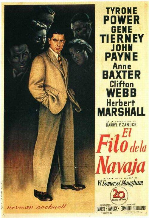 Al filo de la navaja (1946)