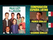 Malcolm el de en Medio - Comparación del Doblaje Latino en Escenas Redobladas - Español Latino