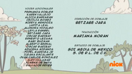Creditos de doblaje The Loud House ESLA (S301-2)