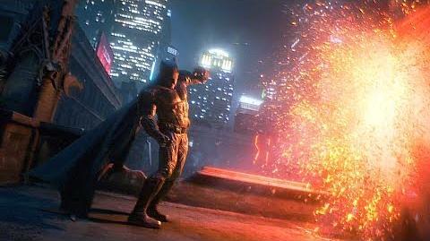 Justice League Primeras escenas Batman Vs Parademons Español Latino 1080p HD 60FPS