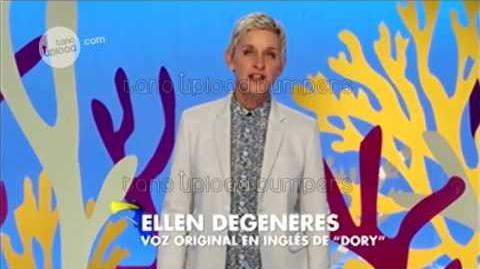 Buscando a Dory - Ellen DeGeneres habla de la película - Español Latino