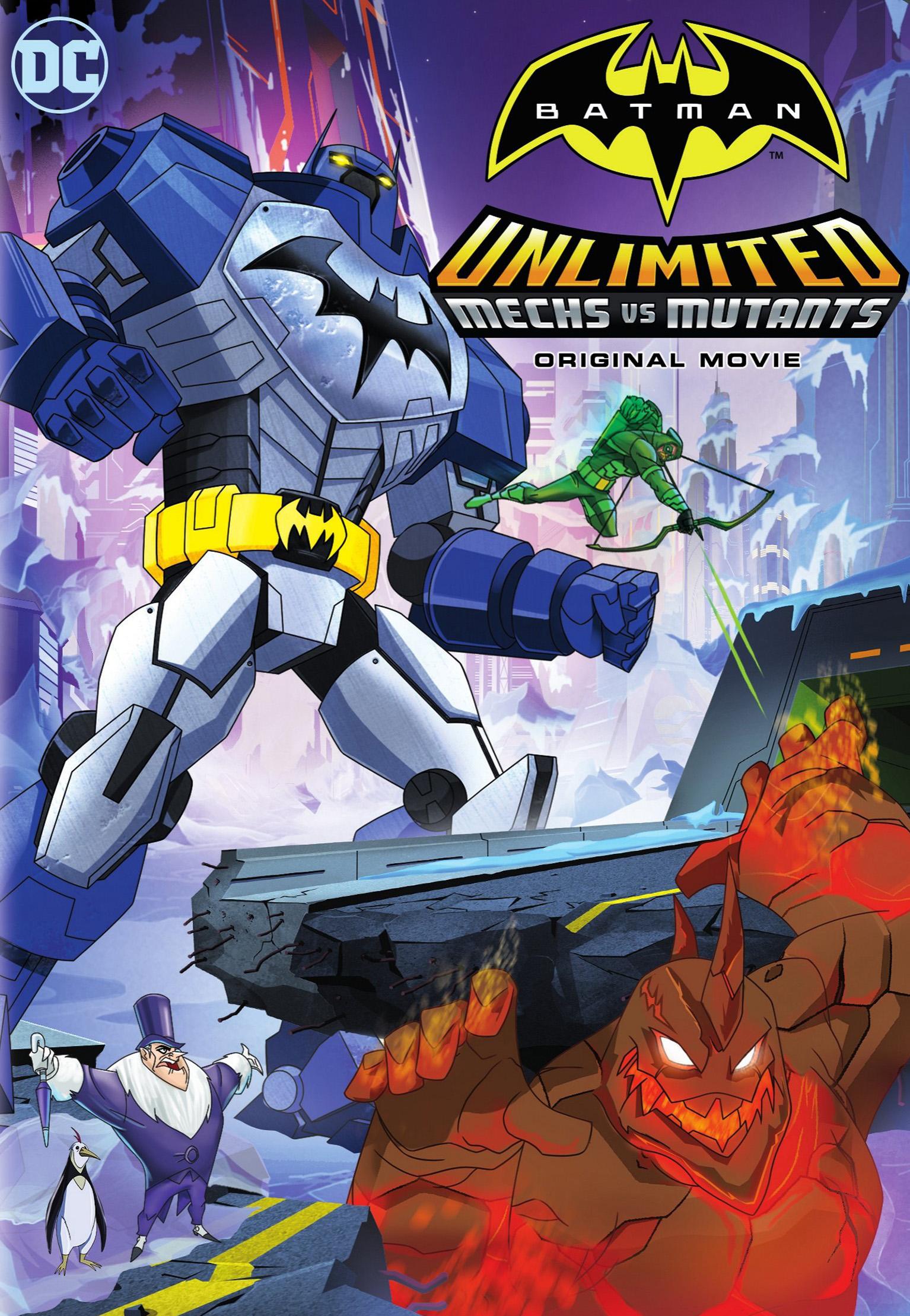 Batman ilimitado: Mechas vs. mutantes