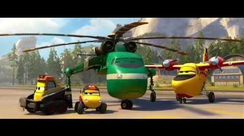 Aviones 2 Equipo de Rescate - ¿Un incendio de verdad?
