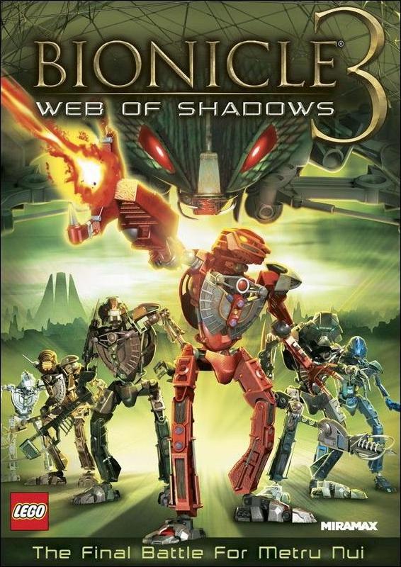 Bionicle 3: Telaraña de sombras