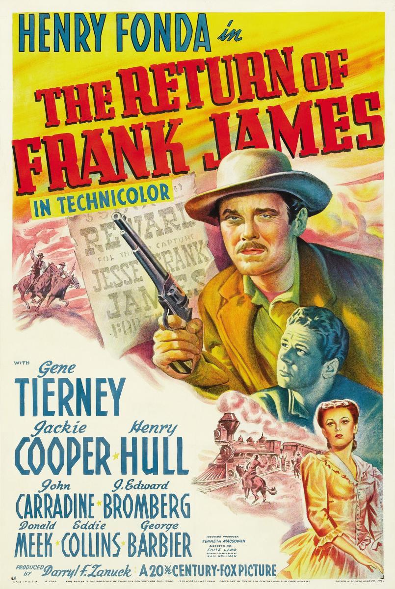 El regreso de Frank James
