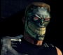 Psycho evil grin