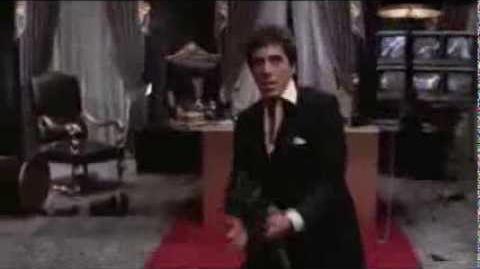 Scarface Cara Cortada (Final Oficial)( VOZ DE RODOLFO VARGAS COMO TONY MONTANA) (DOBLAJE DE LOS ANGELES CALIFORNIA)