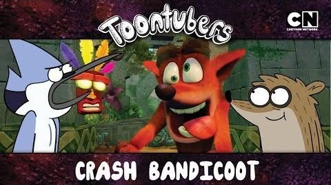 Crash me está volviendo hostil Crash Bandicoot ToonTubers Cartoon Network