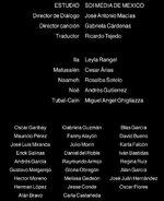 Doblaje Latino de Noé (Versión DVD)