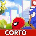 Aventuras de Súper Héroes de Marvel Feliz cumpleaños
