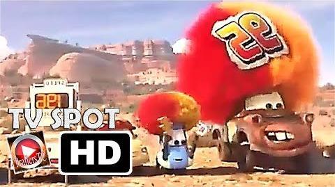 "Cars 3 Disney Tv Spot ""Corre McQueen"" Español Latino"