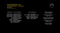 Yellowstone CreditosEP6